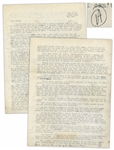Hunter S. Thompson Letter Signed, With Fantastic Big Sur Content -- ...that thing that Mr. Gatsby had, that thing that seems now to be permanently out of stock, a sense of the promise of life...
